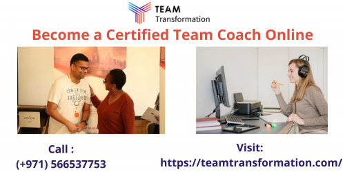 Team Transformation Coach programs are now exclusively available online to help aspiring coaches and professionals seeking skill advancement save time and grow exponentially. Call: +971566629001.